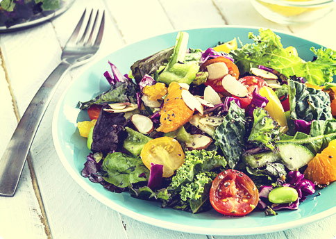 6 Pack Abs Foods - Top Healthy Kale Salad Recipes