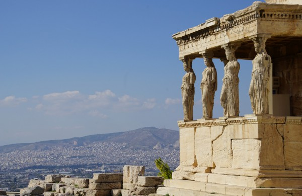 Erechtheion-Parthanon-Athens-Greece
