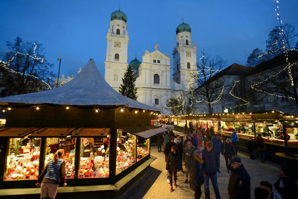 Christmas Market in Passau, Germany