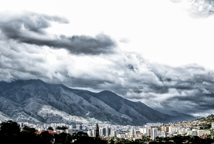 Crime isn't the only cloud hanging over Caracas