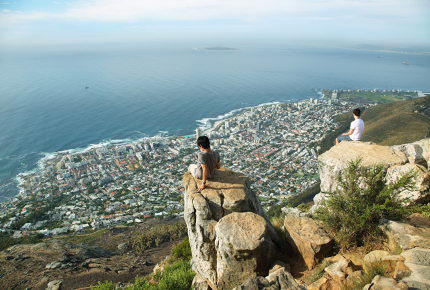 Are we safe up here? Cape Town in its full glory