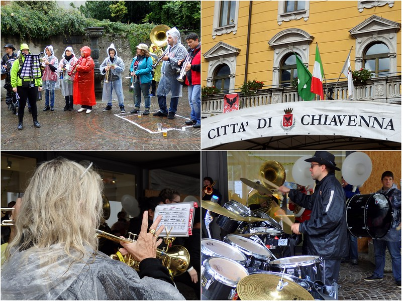 Live music in Chiavenna