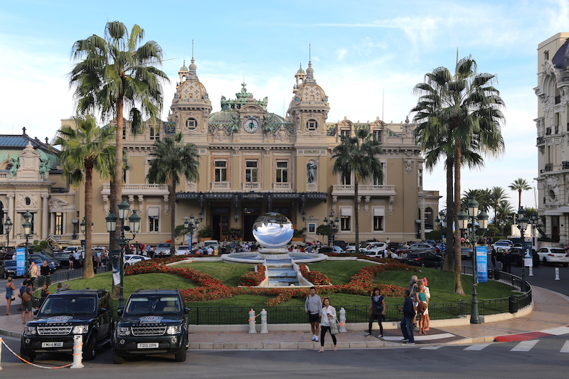 The Monte Carlo Casino in Monaco