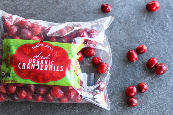 Trader Joe's cranberries