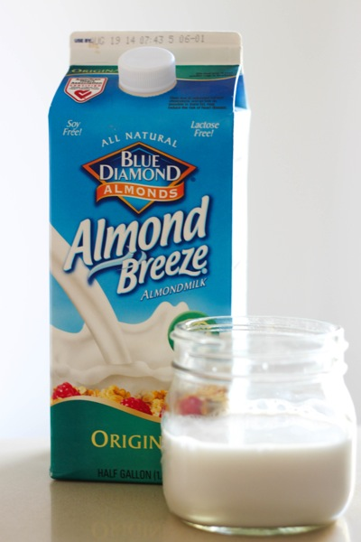 Almond breeze almond milk