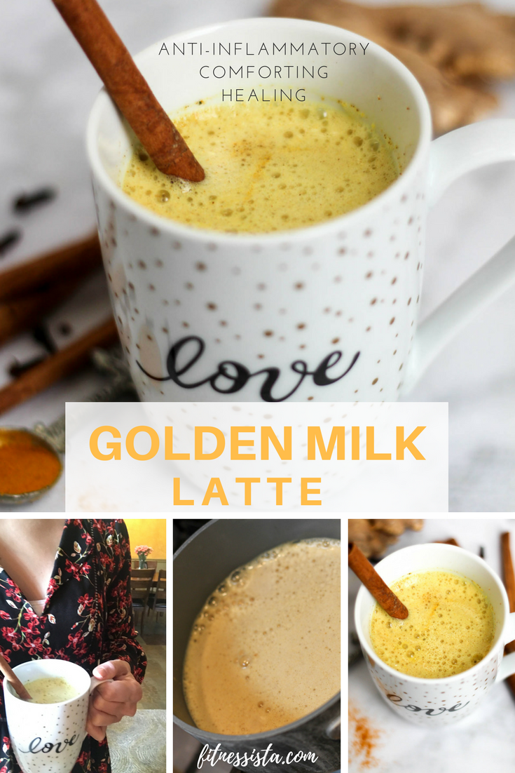 Golden Milk Latte | How to Make Turmeric Tea