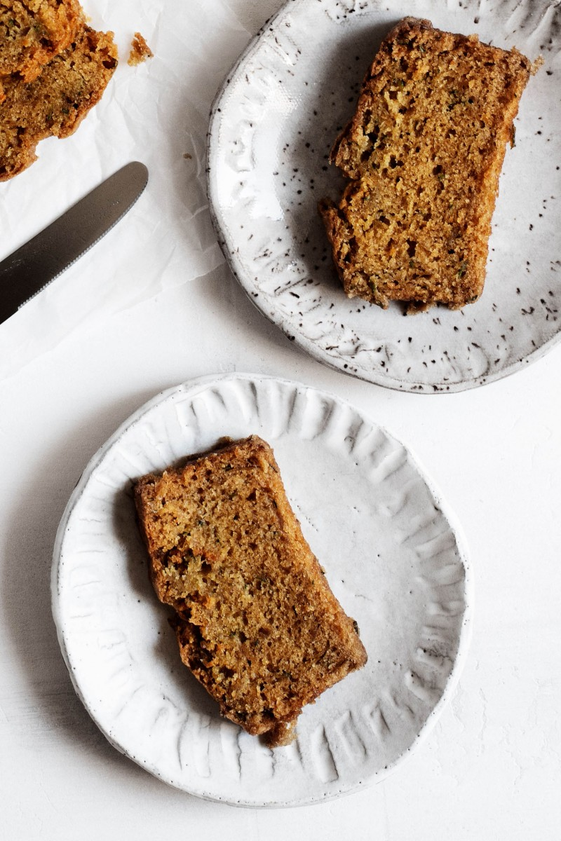 Classic Vegan Zucchini Bread | The Full Helping